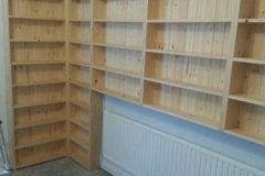 JL Joinery Pine Shelving Units