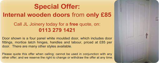 Internal Four Panel Door Offer