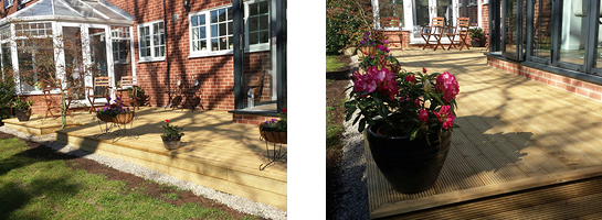 Wooden Decking from JL Joinery Leeds West Yorkshire