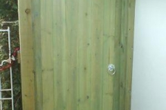 JL Joinery Wooden Garden Gate