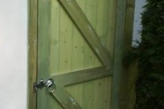 JL Joinery Back Garden Gate