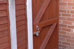 JL Joinery Secure Garden Gate