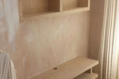 TV Stand and Cabinet Oak Veneered MDF