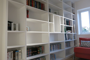Idea: Fitted bookshelves