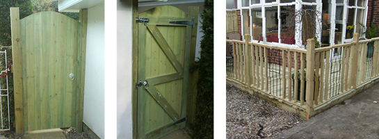 Joiner gates and fence Leeds