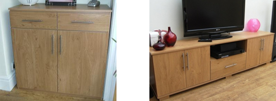 Joiner sideboard and cabinet Leeds