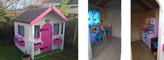Bespoke Wooden Child Playhouses Leeds